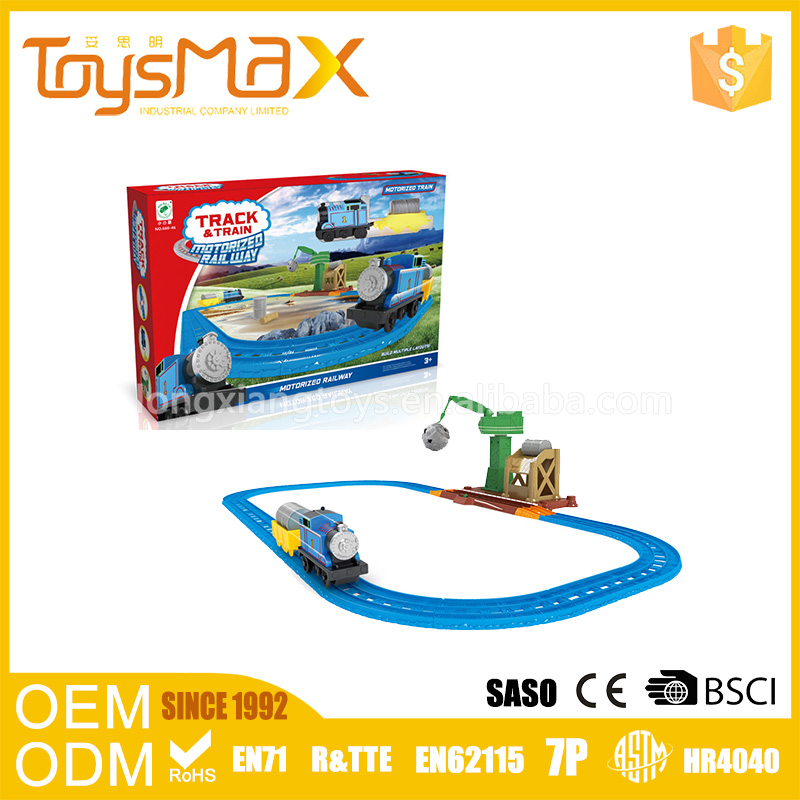 Battery Operated Train Railway Set Toys For Children