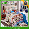 Bright color romantic bedding set,chinese duvet cover,butterfly bedding queen