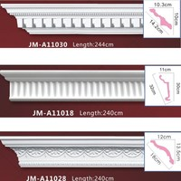 Polystyrene High Quality beautiful PU decorative Cove Molding