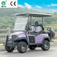 CE approved 4 seat electric aluminum chassis frame golf cart golf buggy Club car for hotel and resort