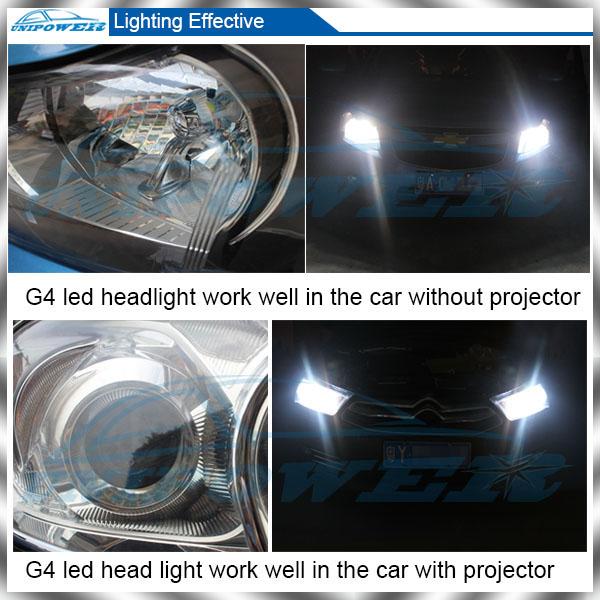 The Brightness 3200lm H4/h13/9004/9007 Led Car Headlight Kit,D2s ...