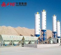 Mini Capacity Mobile Concrete Batching And Mixing Plant