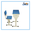 Hot sale student used double and single desk and chair design