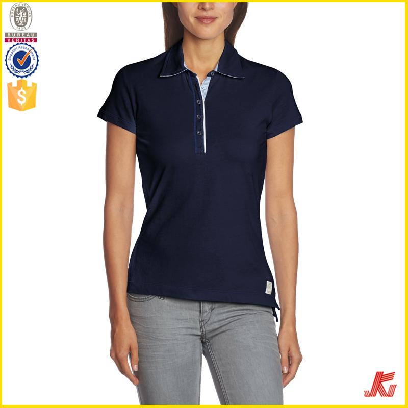 Women S Office Uniform New Design Polo T Shirt Buy Women S Office
