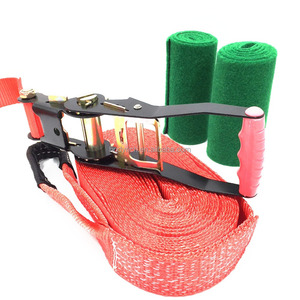 Hot Sale Outdoor Sport Colorful Slackline 15m and 25m