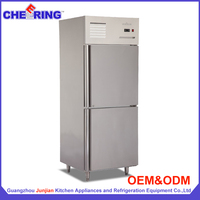 Guangzhou junjian manufacturer reach in cryogenic freezer with CE