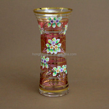 Wholesale Pedestal Cylinder Glass Vase Flower Vases For Centerpieces