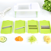 Amazon Easy Use Green r 4 in 1 Potato Vegetable Slice