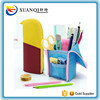 wholesale fashion stand up pencil bag pouch with zipper