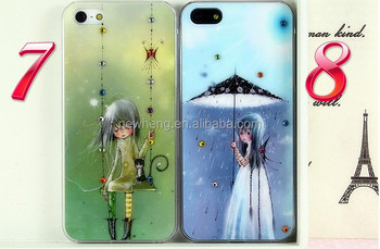 "OEM patten vners / animal / horoscopes Custom case with diamond for iphone 5"" case"