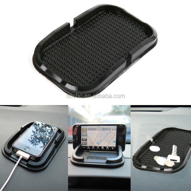 Car Dashboard Sticky Pad Magic Anti-Slip Non-slip Mat Phone Holder football shap