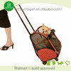 DXPB007 outdoor popular pet product fashionable custom sherpa pet carrier on wheels