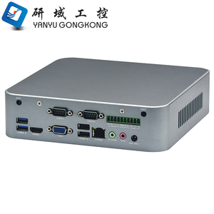 Wholesale intel i3 i5 i7 6th Gen Processor Fanless mini pc desktop industrial computer