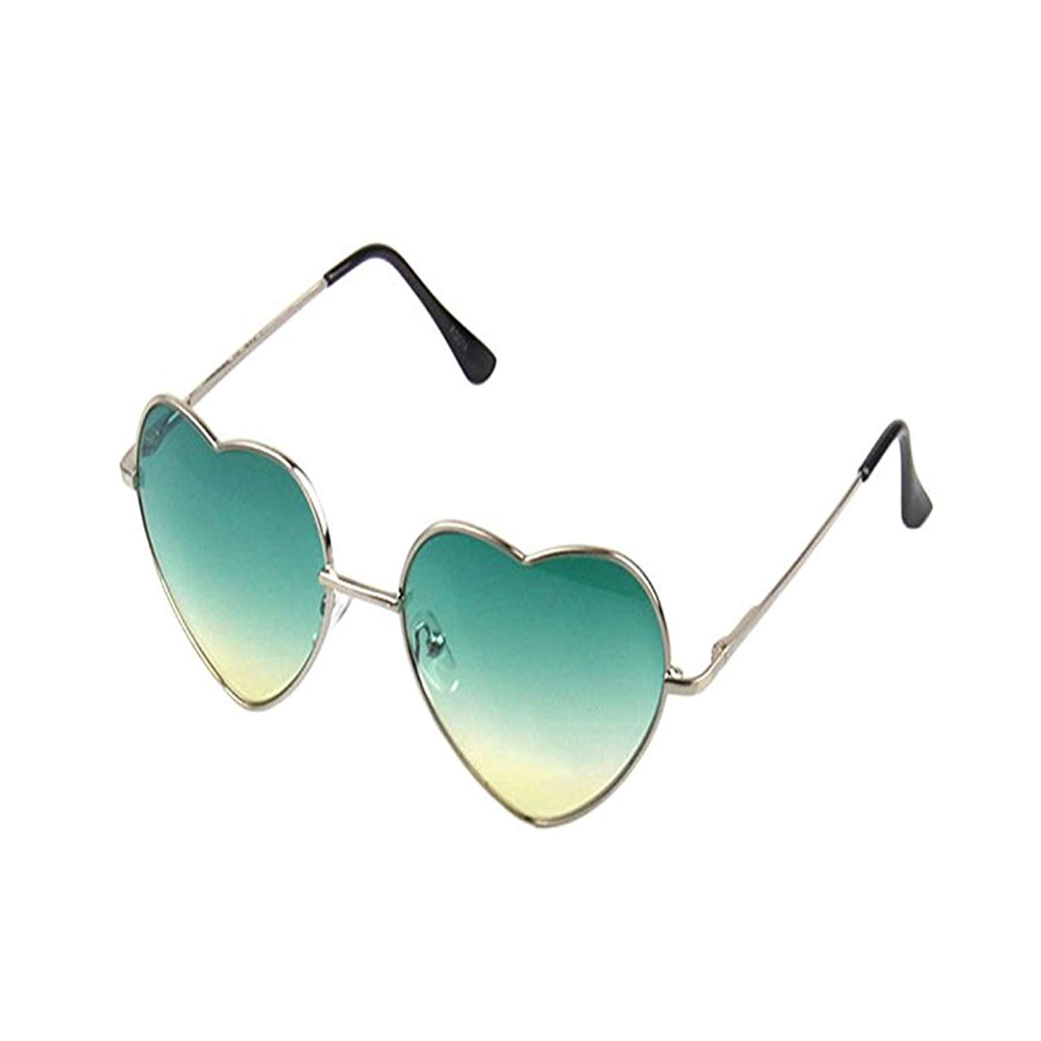 4677960531 Get Quotations · Meyison Vintage Heart Shaped Sunglasses Thin Metal Frame  Cute Aviator Style Eyewear for Women or Men