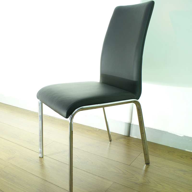 PVC dining chair / powder coated footstool office chair