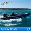 5m Rigid inflatable boat with outboard engine