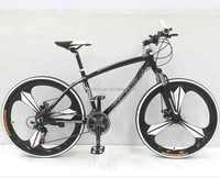 "26"" alloy black bike with one pc wheel HL-M161"
