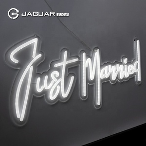 Jaguar Sign Customized Advertising Acrylic Led Neon Letter Sign China
