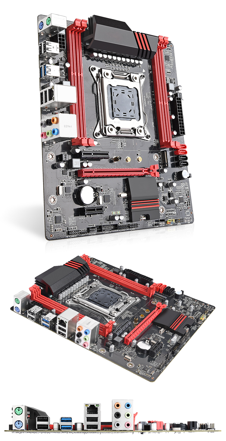 x79 motherboard lga 2011 micro atx mobo mainboard support server ram