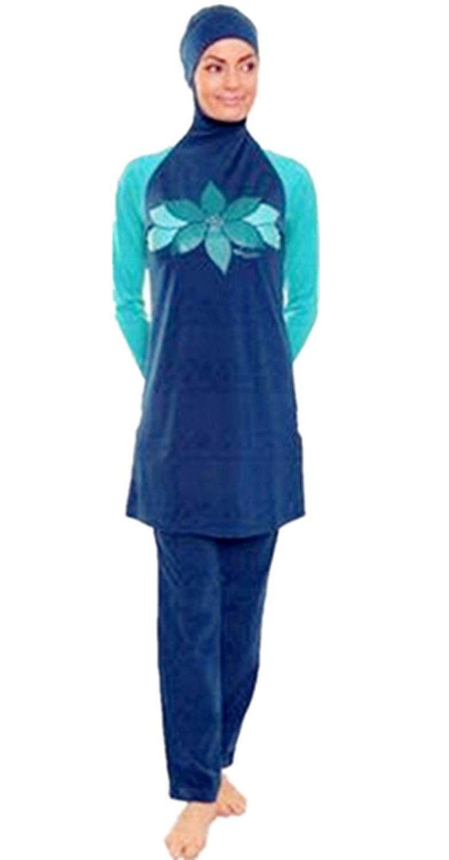 e869fb969b0a9 Get Quotations · Modest Muslim Swimwear Islamic Swimsuit For Women hijab  swimwear full coverage swimwear muslim swimming beachwear swim