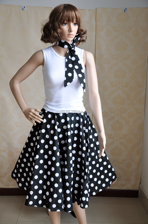 Fashionable Retro Style 100% Cotton Dancing Swing Jive ...