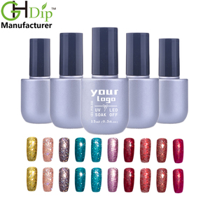 wholesale colors blue red gold gel soak off nail polish