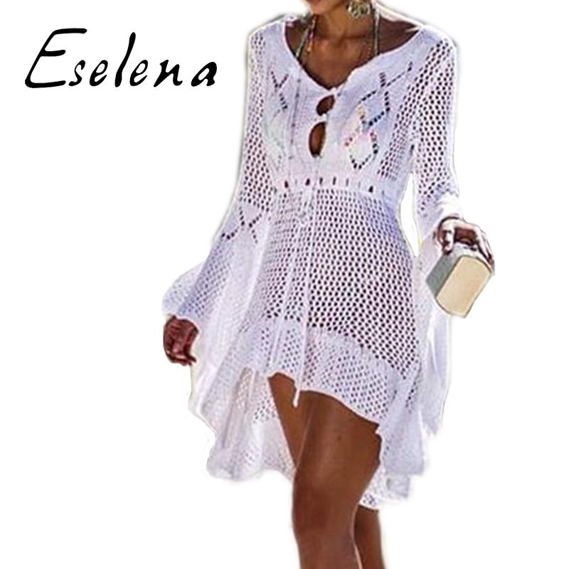 d50d1c366 Venta al por mayor vestido crochet manga larga-Compre online los ...