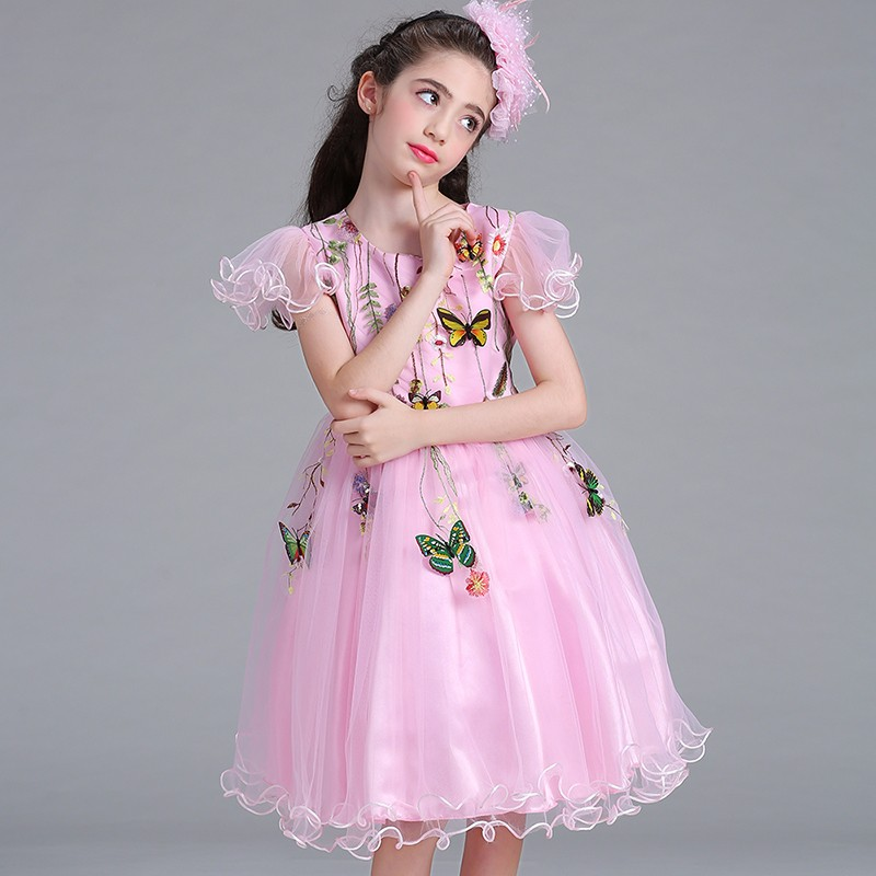 fe9295f0f6 Latest Glitz Pageant Dress Designs Little Girl Prom Ball Gown ...