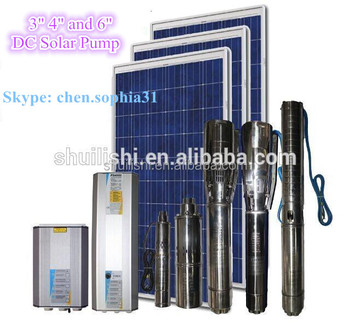 Solar Energy Submersible Drinking Water Pump For Deep Well DC