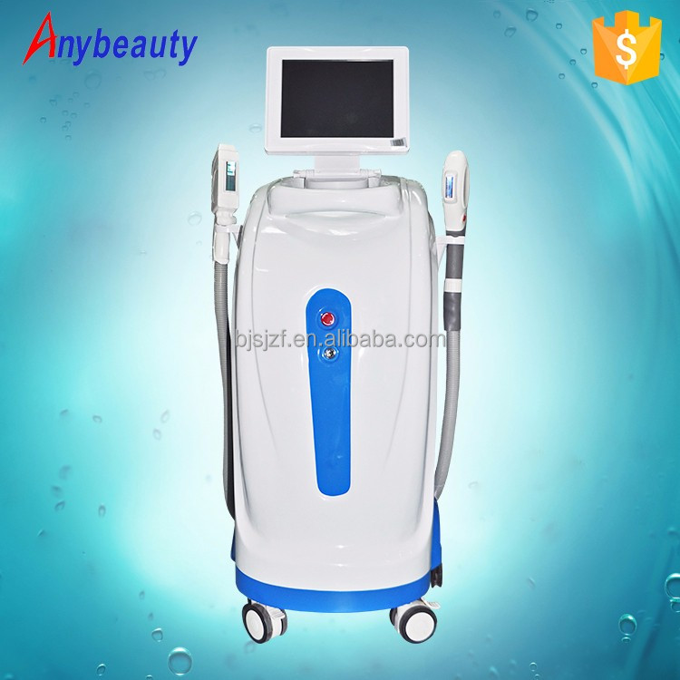Beauty equipment suppliers ipl skin rejuvenation permanent super hair removal