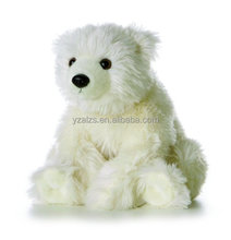 Pure White Plush Iceberg Bear Toys Stuffed Animal