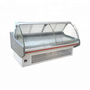 fan cooling food display cooler deli fresh meat showcase