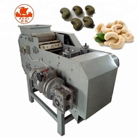 Automatic Cashew Nut Sheller Processing Machine Cashew Nut Shelling Shell Removing Breaking Cracking Machine