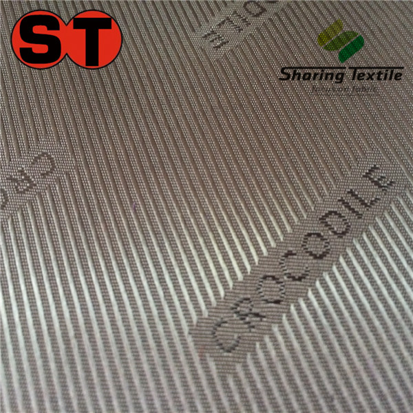 Wholesale Polyester Or Poly&Rayon 210T&300T Embossed&Jacquard Logo Taffeta Or Lining Fabric