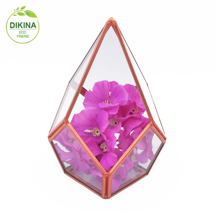 Messing Kerze Glas Oder Blumentopf Schmuck Halter Vase