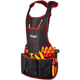 Amazon Eaby waterproof and stain resistant multifunctional tool apron garden suit cleaning vehicle washer apron