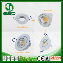 New products looking for distributor 12v aluminum LED spotlight with gu10 socket with BIS certificate