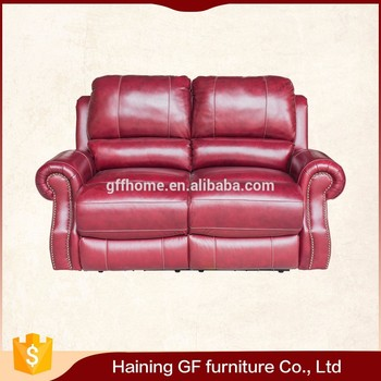 Energy-saving Set Living Room With Reclination Leather Seat Cushion ...
