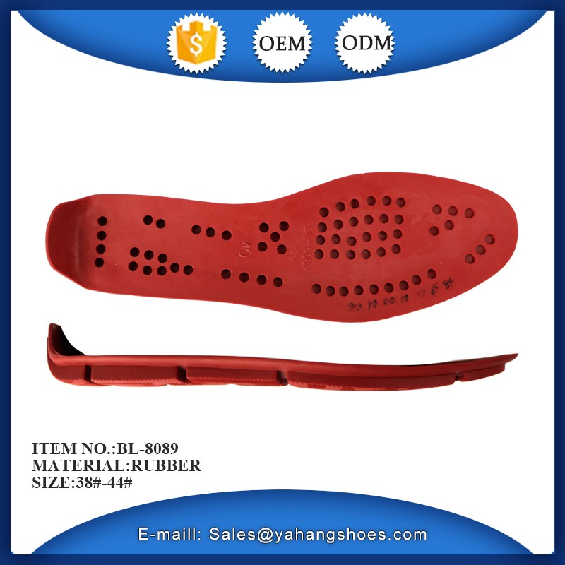 low price red rubber shoe sole men casual shoes making