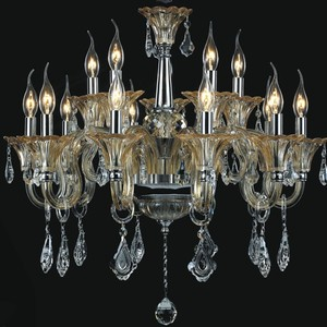 Modern Chinese suppliers made the glass crystal lamp