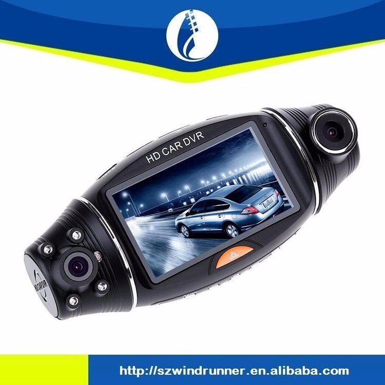 FHD 1080P hidden smart Car DVR Dual Lens Rear Camera Recorder Dash Cam camera with Night Vision G-Sensor