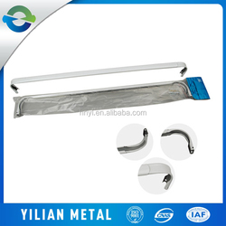 China factory for white double or single curtain rod