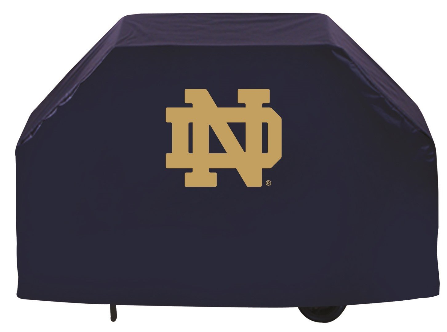 Team Sports Covers Northern Michigan Grill Cover with Wildcats Logo on Black Vinyl