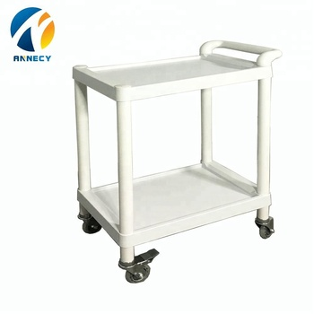 AC-UT001 medical supplies from china hospital abs utility carts trolleys