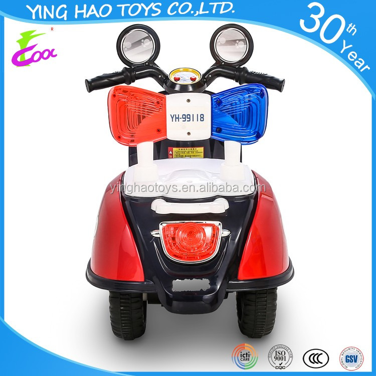 Popular Kids Battery Operated Ride On Electric Motorcycle