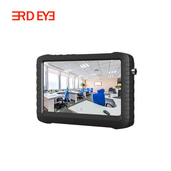 High Quality Battery Powered 5 inch Mini 1080P AHD DVR Camera Test Monitor support Ahd/TVI/CVI/Analog Input and Memory