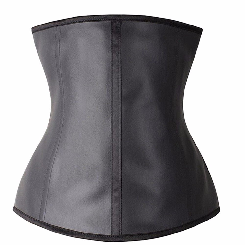 Commercio all'ingrosso 3 gancio magazzino Body Shaper che dimagrisce sport corsetto donna lattice vita trainer