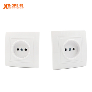 Hot sales white eu type electric colored wall switch 16a plug