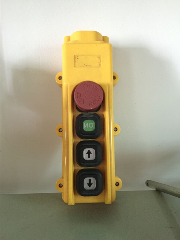 HOB- indirect operation remote control hoist crane control push button switch