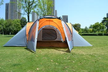 Occident extra large 6-8 Person outdoor 3 Room Family Cabin Tent & Occident Extra Large 6-8 Person Outdoor 3 Room Family Cabin Tent ...